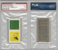 1955 Bowman, Magic Pictures, #101 & 102, PSA 5 EX