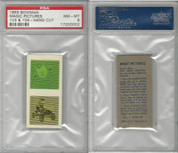 1955 Bowman, Magic Pictures, #103 & 104, PSA 8 NMMT