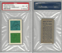 1955 Bowman, Magic Pictures, #109 & 110, PSA 8 NMMT