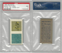 1955 Bowman, Magic Pictures, #115 & 116, PSA 7 NM