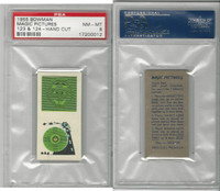 1955 Bowman, Magic Pictures, #123 & 124, PSA 8 NMMT