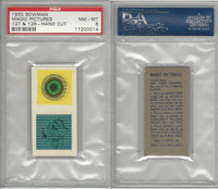 1955 Bowman, Magic Pictures, #127 & 128, PSA 8 NMMT