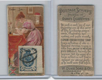 N85 Duke, Postage Stamps, 1889, Dear Sir