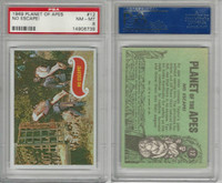 1969 Topps, Planet Of The Apes, #12 No Escape!, PSA 8 NMMT