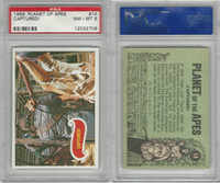 1969 Topps, Planet Of The Apes, #14 Captured!, PSA 8 NMMT