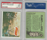 1969 Topps, Planet Of The Apes, #16 Proud Conquerors!, PSA 9 OC Mint