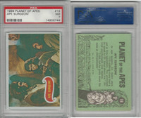 1969 Topps, Planet Of The Apes, #18 Ape Surgeon!, PSA 7 NM