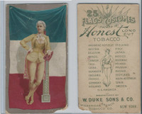 N109 Duke, Flags And Costumes, 1893, France