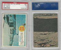 1970 Topps, Man On The Moon, Re -Issue, #87 Recovery, PSA 5 EX