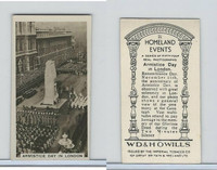 W62-146 Wills, Homeland Events, Ser54, 1932, #21 Armistice Day, London