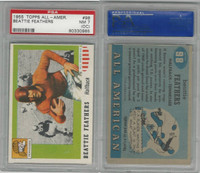 1955 Topps Football, #98 Beattie Feathers SP, Tennessee, PSA 7 OC NM