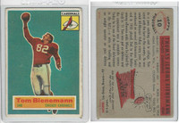1956 Topps Football, #10 Tom Bienemann SP, Chicago Cardinals