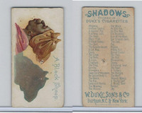 N87 Duke Cigarettes, Shadows, 1889, A Black Sheep