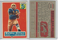 1956 Topps Football, #103 Bobby Dillon, Green Bay Packers