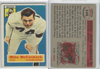 1956 Topps Football, #105 Mike McCormack HOF, Browns