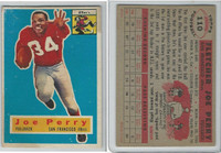 1956 Topps Football, #110 Joe Perry HOF, San Francisco 49ers