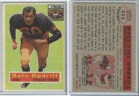 1956 Topps Football, #111 Dale Dodrill, Pittsburgh Steelers
