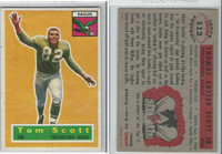 1956 Topps Football, #112 Tom Scott, Philadelphia Eagles