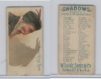 N87 Duke Cigarettes, Shadows, 1889, A Striking Goat