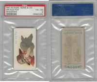 N87 Duke Cigarettes, Shadows, 1889, An Old Fox, PSA 4 VGEX