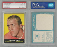 1961 Topps Football, #148 Jack Lee, Houston Oilers, PSA 9 Mint