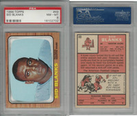 1966 Topps Football, #49 Sid Blanks, Houston Oilers, PSA 8 NMMT
