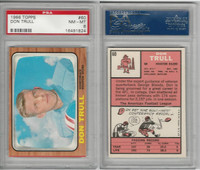 1966 Topps Football, #60 Don Trull, Houston Oilers, PSA 8 NMMT