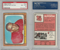 1966 Topps Football, #72 Curtis McClinton, Kansas City Chiefs, PSA 8 NMMT