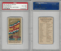 N9 Allen & Ginter, Flags of all Nations, 1887, Guatemala, PSA 4 VGEX