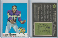 1969 Topps Football, #104 Ed Sharockman, Minnesota Vikings