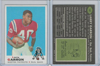 1969 Topps Football, #141 Larry Garron, Boston Patriots