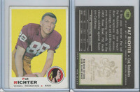1969 Topps Football, #180 Pat Richter, Washington Redskins