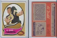 1970 Topps Football, #123 Al Dodd, New Orleans Saints