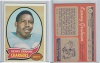 1970 Topps Football, #152 Kenny Graham San Diego Chargers