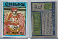 1972 Topps Football, #10 Otis Taylor, Kansas City Chiefs