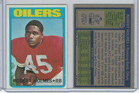 1972 Topps Football, #103 Robert Holmes, Houston Oilers
