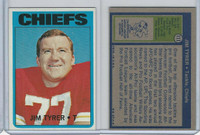 1972 Topps Football, #111 Jim Tyrer Kansas, City Chiefs