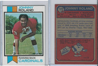 1973 Topps Football, #123 Johnny Roland, New York Giants