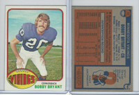 1976 Topps Football, #11 Bobby Bryant, Minnesota Vikings