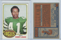 1976 Topps Football, #101 Randy Logan, Philadelphia Eagles