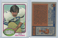 1976 Topps Football, #102 John Fitzgerald, Dallas Cowboys