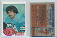 1976 Topps Football, #103 Gregg Bingham (Rookie), Houston Oilers