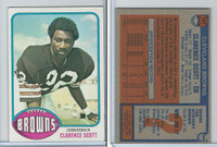 1976 Topps Football, #107 Clarence Scott, Cleveland Browns