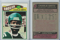 1977 Topps Football, #103 Charlie Smith, Philadelphia Eagles