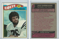 1977 Topps Football, #111 Joe Ehrmann, Baltimore Colts