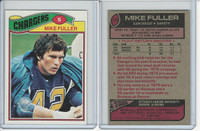 1977 Topps Football, #116 Mike Fuller, San Diego Chargers
