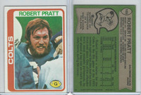 1978 Topps Football, #109 Robert Pratt