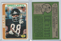 1978 Topps Football, #112 Greg Latta