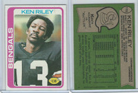 1978 Topps Football, #115 Ken Riley