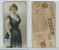 N257 Lorillard, Beautiful Women, 5 Cent Ante, 1893, (1)